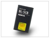 Nokia 100 1616 1800 Asha 311 gyári akkumulátor    Li Ion 800 mAh   BL 5CB (csomagolás nélküli) eladó