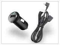 Sony Ericsson gyári USB szivargyújtós töltő adapter  +  micro USB adatkábel   5V 1 2A   AN400 + EC600L (csomagolás nélküli) eladó