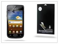 Samsung i8150 Galaxy W képernyővédő fólia   Clear   1 db csomag eladó