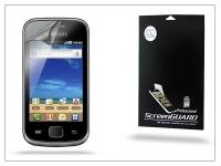 Samsung S5660 Galaxy Gio képernyővédő fólia   Clear   1 db csomag eladó