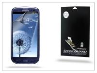 Samsung i9300 Galaxy S III képernyővédő fólia   Anti Finger   1 db csomag eladó