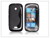 Nokia Lumia 510 szilikon hátlap   S Line   fekete eladó