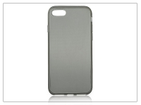 Apple iPhone 7 iPhone 8 szilikon hátlap   Ultra Slim 0 3 mm   fekete eladó