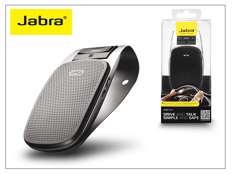 Jabra Drive Bluetooth autós kihangosító - MultiPoint - black ... 613ee10e9b
