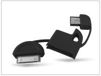 Apple iPhone 2G 3G 3GS 4 4S iPad iPad2 iPod USB kulcstartó adatkábel   fekete eladó