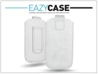DECO SLIM univerzális bőrtok   Apple iPhone 3GS Sony Xperia E Nokia X   fehér   5  méret eladó