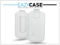 DECO SLIM univerzális bőrtok   Samsung i9100 Galaxy S II HTC Desire 210   fehér   12  méret eladó