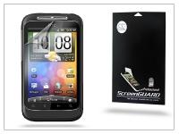 HTC Wildfire S képernyővédő fólia   Clear   1 db csomag eladó