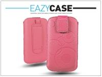 DECO SLIM univerzális bőrtok   Samsung S5230 S5360 LG E400   pink   4  méret eladó