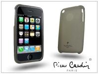 Apple iPhone 3G 3GS szilikon hátlap   fekete eladó