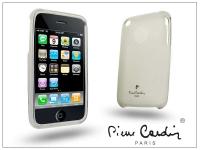 Apple iPhone 3G 3GS szilikon hátlap   fehér eladó