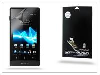 Sony Xperia Sola (MT27i) képernyővédő fólia   Clear   1 db csomag eladó