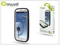 Samsung i9300 Galaxy S III védőkeret képernyővédő fóliával   Muvit i Belt Bumper   black eladó