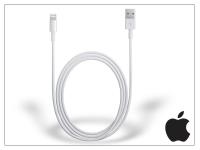 Apple iPhone 5 5S 5C SE iPad 4 iPad Mini eredeti  gyári USB töltő  és adatkábel 2 m es vezetékkel   Lightning   MD819ZM A eladó