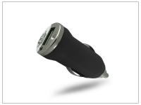USB micro szivargyújtó töltő adapter   5V 1A   fekete eladó