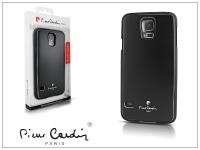 Samsung SM G900 Galaxy S5 alumínium hátlap   black eladó