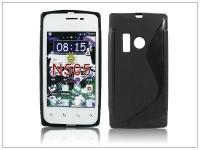 Nokia Lumia 505 szilikon hátlap   S Line   fekete eladó