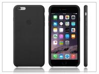 Apple iPhone 6 Plus 6s Plus eredeti gyári bőr hátlap   MGQX2ZM A   black eladó