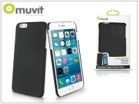 Apple iPhone 6 Plus 6S Plus hátlap   Muvit Soft Back   black eladó