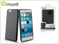 Apple iPhone 6 Plus 6S Plus hátlap   Muvit miniGel   black eladó