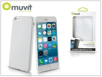 Apple iPhone 6 Plus 6S Plus hátlap   Muvit miniGel   white eladó
