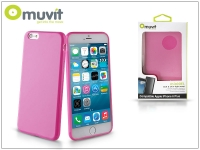 Apple iPhone 6 Plus 6S Plus hátlap   Muvit miniGel   pink eladó