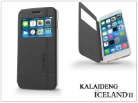 Apple iPhone 6 Plus flipes tok   Kalaideng Iceland 2 Series View Cover   black eladó