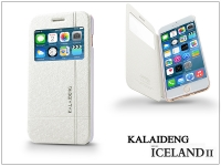 Apple iPhone 6 Plus flipes tok   Kalaideng Iceland 2 Series View Cover   white eladó
