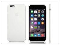 Apple iPhone 6 Plus 6s Plus eredeti gyári szilikon hátlap   MGRF2ZM A   white eladó