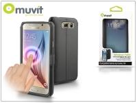 Samsung SM G920 Galaxy S6 flipes tok   Muvit Window Folio   black eladó