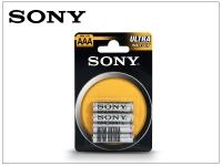 Sony Ultra Carbon Zinc AAA micro elem   4 db csomag eladó
