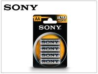 Sony Ultra Carbon Zinc AA ceruza micro elem   4 db csomag eladó