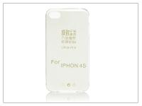 Apple iPhone 4 4S szilikon hátlap   Ultra Slim 0 3 mm   transparent eladó