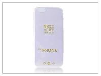 Apple iPhone 6 6S szilikon hátlap   Ultra Slim 0 3 mm   lila eladó