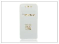 Apple iPhone 5 5S SE szilikon hátlap   Ultra Slim 0 3 mm   transparent eladó