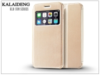 Apple iPhone 6 Plus flipes tok   Kalaideng Sun Series View Cover   golden eladó