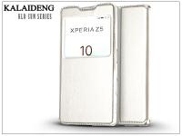 Sony Xperia Z5 (E6653) flipes tok   Kalaideng Sun Series View Cover   white eladó