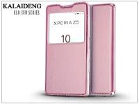 Sony Xperia Z5 (E6653) flipes tok   Kalaideng Sun Series View Cover   pink eladó