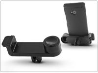 Univerzális szellőzőrácsba illeszthető PDA GSM autós tartó   fekete eladó