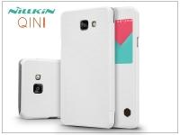 Samsung A710F Galaxy A7 (2016) oldalra nyíló flipes tok   Nillkin Qin   fehér eladó