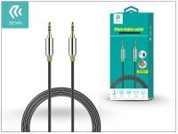 3 5   3 5 mm jack audio kábel 1 m es vezetékkel   Devia iPure Audio Cable   black eladó