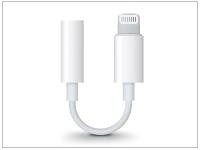 Apple eredeti lightning adapter 3 5 mm jack füllhallgatóhoz   MMX62ZM A   fehér eladó