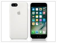 Apple iPhone 7 eredeti gyári szilikon hátlap   MMWF2ZM A   white eladó