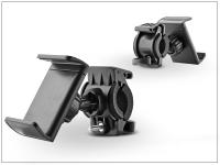 Univerzális kerékpárra szerelhető telefontartó   fekete eladó