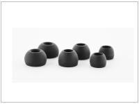 Fülhallgatóhoz pótgumi szett   3 méret csomag   fekete eladó