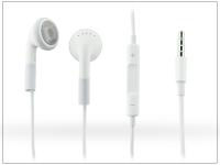 Univerzális sztereó felvevős fülhallgató   3 5 mm jack   white eladó