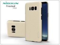 Samsung G955F Galaxy S8 Plus hátlap képernyővédő fóliával   Nillkin Frosted Shield   gold eladó
