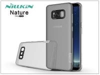 Samsung G955F Galaxy S8 Plus szilikon hátlap   Nillkin Nature   szürke eladó