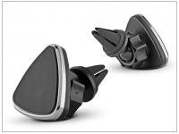 Univerzális szellőzőrácsba illeszthető mágneses PDA GSM autós tartó   állítható fejjel eladó
