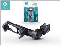 Univerzális szellőzőrácsba illeszthető autós tartó max  3 5 6 &quot  méretű készülékekhez   Devia Universal Car Air Vent Holder X2   black eladó